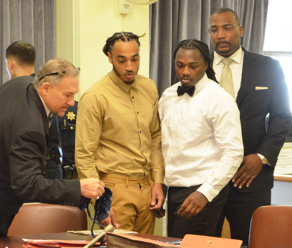 Fate of 2 accused of murder is in jury's hands; victim was shot at least 19 times