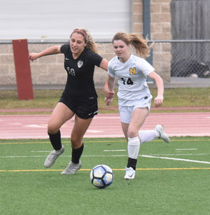 The second-seeded Lakeshore girls soccer team reached the Division II championship for the second time in three years.