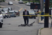 Bicyclist, 32, critically injured in crash in Sunnyside