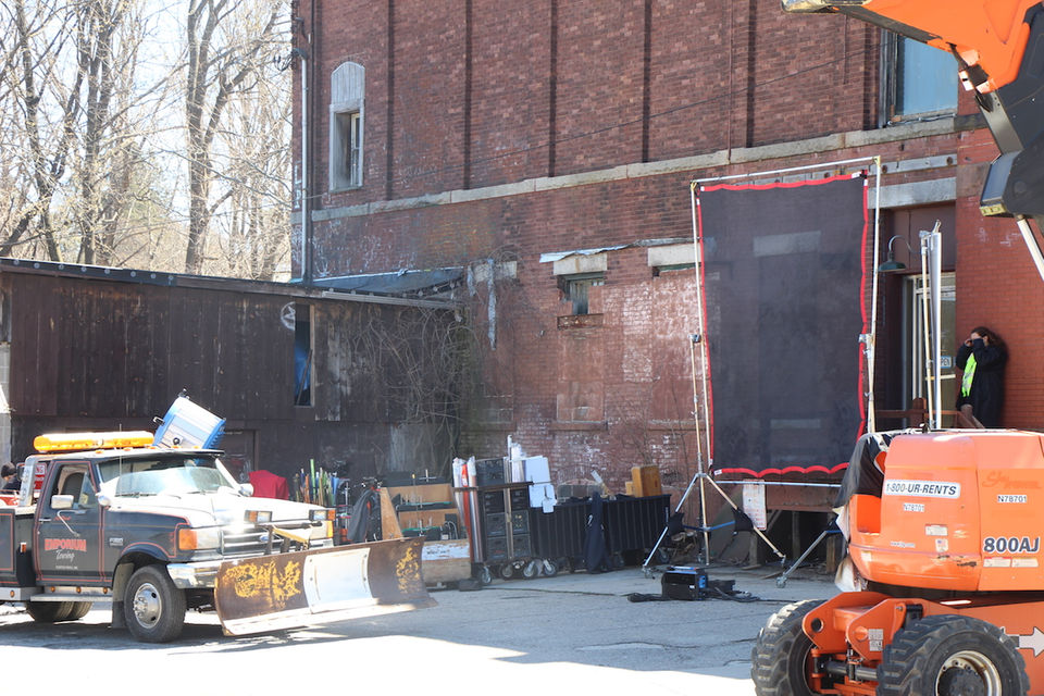 Castle Rock' filming in Clinton: On scene Wednesday checking