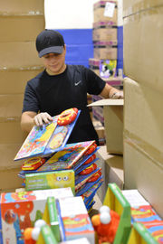 Regional Sheriff's Department Academy cadets volunteer for Toy for Joy