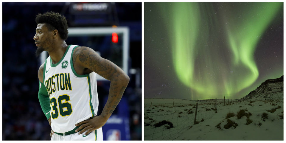 NBA fines Smart, chance to see northern lights & more: What's trending today