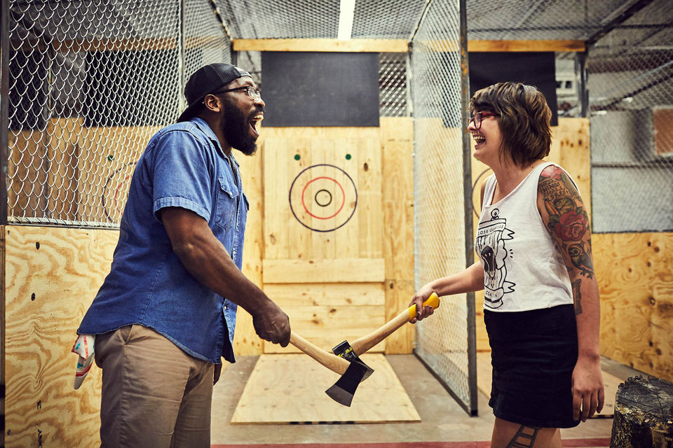 An Axe Throwing Bar Is Opening In Somerville This Summer
