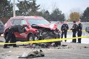Fatal accident shuts down DeWitt road