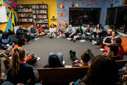 Parkland survivors visit with Michigan youths at Ann Arbor's Neutral Zone