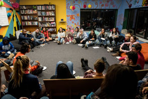 Washtenaw Youth Initiative hosts student activists for panel discussion, Thursday, Nov. 15, 2018 in Ann Arbor.