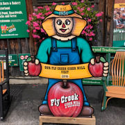 Upstate New York's best cider mill is in a place called Fly Creek