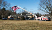 Funeral procession honors retired Palmer Township police chief (PHOTOS)