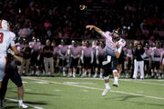 In memory of mother, Brighton QB scores game-winner in OT on Pink Out night