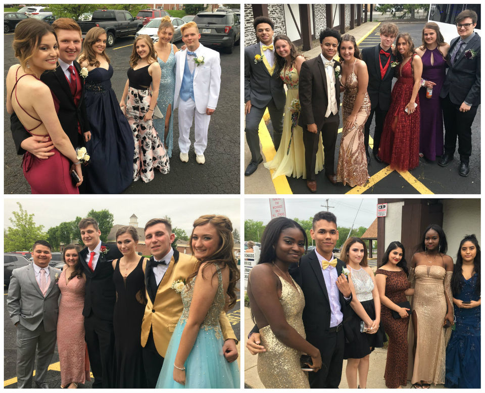 Valley Forge High School celebrates 2019 prom at Michaud's Catering & Event Center in Strongsville (photos)