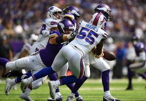 By Ryan Talbot | Contributing writer The Buffalo Bills turned the page on their two blowout losses to open the season. They also showed that they can win as a team even if their most talented player is not healthy enough to play. On Sunday, just about everything went right for the Bills when they rolled over the Minnesota Vikings 27-6. After picking up their first win of the year, here are eight reasons to be encouraged and three reasons to worry.