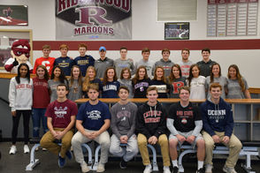 Signing Day photos from across the state as New Jersey's top high school athletes sign their National Letters of Intent.