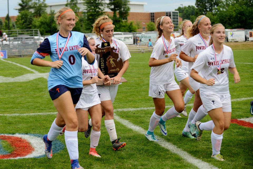 Rachel Rasins' two goals lifts Flint Powers Catholic to 2nd straight state title | MLive.com