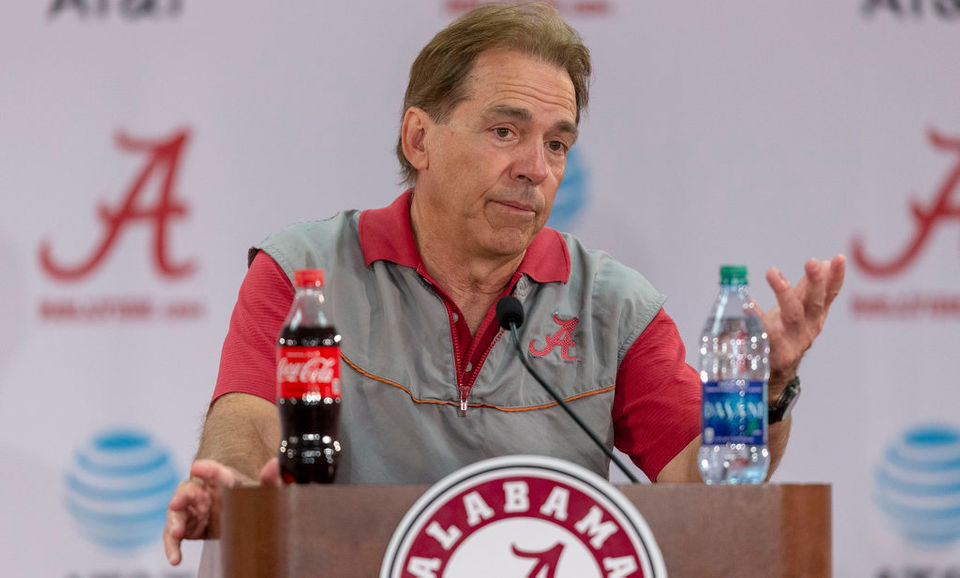 Nick Saban addresses injuries, QBs, new LB