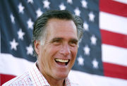 Former Massachusetts Gov. Mitt Romney makes final pitch to voters ahead of primary in race for a Utah Senate seat