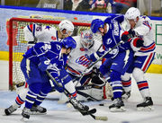 Vets show the way as Syracuse Crunch strikes first in playoff series vs. Rochester