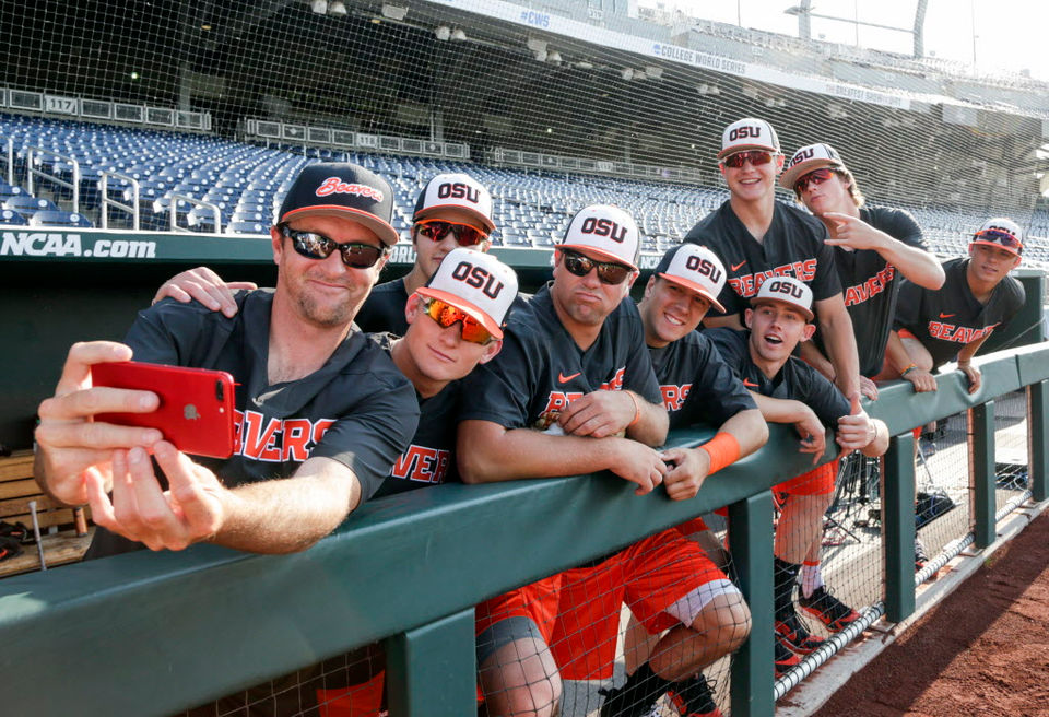 Oregon State gets set to face North Carolina in 2018 College World Series