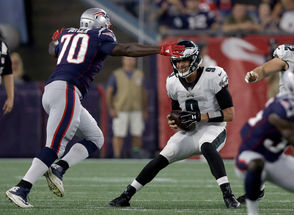 The Philadelphia Eagles faced the New England Patriots in Week 2 of the preseason on Aug. 16, 2018.