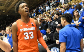 Syracuse, N.Y. -- The Syracuse Orange will play the nation's No. 1-ranked team on Saturday. Duke, which had been ranked No. 2 in last week's Associated Press poll, ascended to the top spot this week. The Blue Devils beat North Carolina State and Louisville last week, while the AP's previous No. 1 team Tennessee lost at Kentucky on Saturday. This is the second time this season that Duke has been ranked No. 1. Syracuse knocked off the then-No. 1-ranked Blue Devils 95-91 in overtime at Cameron Indoor Stadium on Jan. 14. Should Syracuse beat Duke again this Saturday, the Orange would become just the seventh team to beat an opponent twice in the same season when the opponent was ranked No. 1 in the nation. Here is a look at the six teams and the teams they beat who were No. 1.