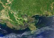 Missing boot: Satellite image shows eroding Louisiana coastline