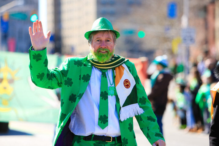 Jersey City's St. Patrick's Day Parade roars up Kennedy Boulevard