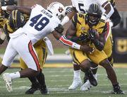 Montavious Atkinson gives Auburn veteran experience at weak-side linebacker