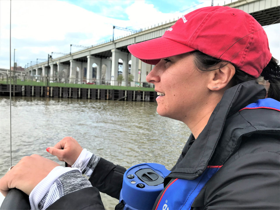 Coach Alyssa Trebilcock of The Foundry teaches youths from around town to row together: My Cleveland