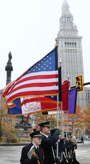 Annual Veterans Day Parade - Anniversary of Armistice of World War I
