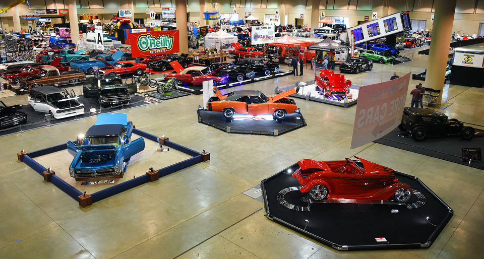 Amazing Cars To See At The OReilly World Of Wheels Auto Show In - O reilly car show