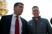 Does Rutgers coach Chris Ash think he's on the hot seat?
