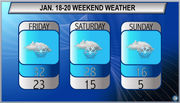 Heavy snow expected this weekend: Northeast Ohio weekend weather forecast