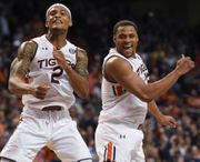 While we were watching Alabama football, Auburn hoops went nuts