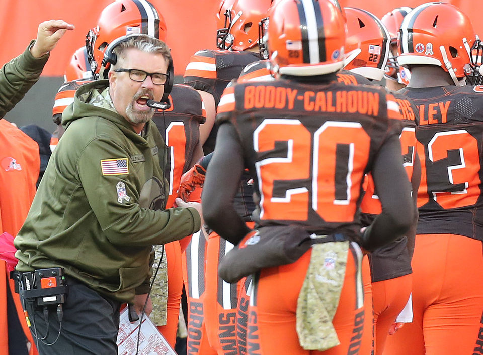 Does Gregg Williams have a legitimate shot at the Browns head coaching job? Hey, Mary Kay!