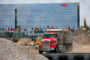 Former Dow headquarters unexpectedly 'pancakes' during demolition