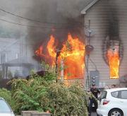 Roaring Blairstown blaze draws several fire companies (PHOTOS)