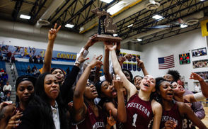 Only 32 girls basketball teams are still playing in Michigan, and that number will decline until only four remain to lift the state championship trophies Saturday at Calvin College. As the high school teams head into Tuesday's quarterfinals, MLive's high school sports reporters made their predictions, hoping to outpick the fans who also voted for their favorites. Check out the readers' poll winners. The writers and readers agreed on the eventual champion in Division 3, but differed on Division 1 and Division 2. The MLive reporters couldn't make up their mind in Division 4, splitting the vote between two teams. We have to wait until Saturday night to find out who was right but read the high school reporters' predictions and (hopefully) omniscient analysis.