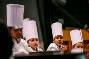 Little chefs compete in elementary school cooking contest