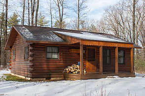 Modern cabins, which have modern bathrooms, electric heat and outlets, and sleep 6-8 people are available at Black Moshannon State Park at Philipsburg, Canoe Creek State Park in Frankstown Township, Blair County, French Creek State Park near Elverson, Gifford Pinchot State Park near Lewisberry, Hills Creek State Park near Wellsboro, Hyner Run State Park at North Bend, Keystone State Park at Derry, Linn Run State Park in Cook and Ligonier townships, Westmoreland County , Little Buffalo State Park near Newport, Moraine State Park at Portersville, Nockamixon State Park near Quakertown, Prince Gallitzin State Park at Patton, Pymatuning State Park at Jamestown, Raccoon Creek State Park at Hookstown and Ricketts Glen State Park at Benton.