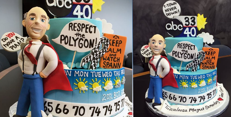 20 Of The Most Creative James Spann Cakes Weve Seen Al