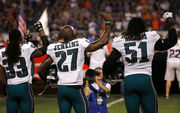 Malcolm Jenkins reiterates he won't attend White House visit, Philadelphia Eagles surgery list grows and more