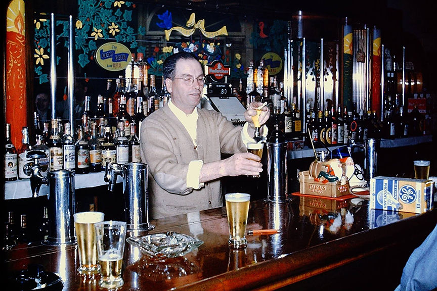 Vintage N.J. photos of bars and taverns