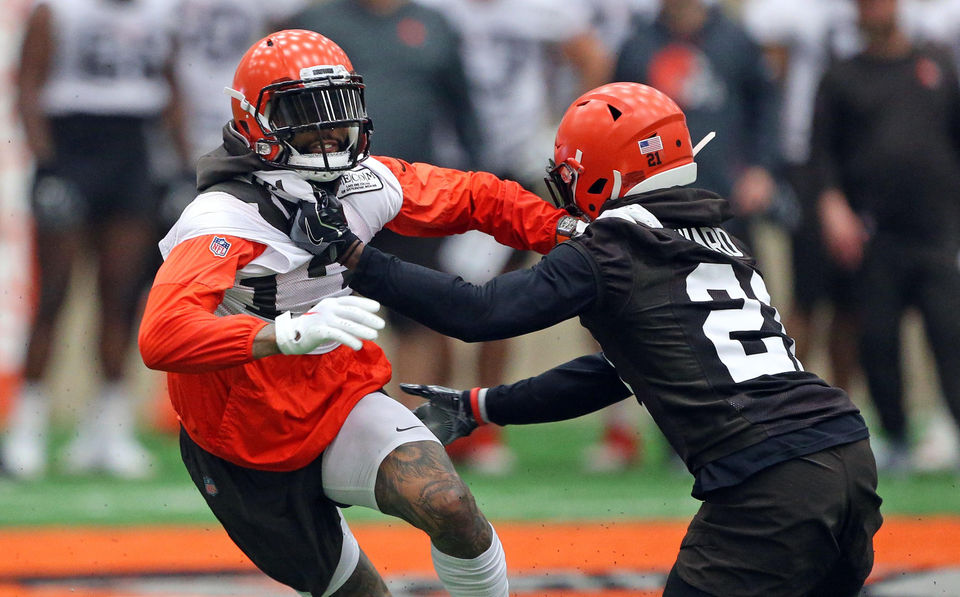 Where do Denzel Ward and the Cleveland Browns' defensive backs rank in the AFC North? -- 2019 Position Rankings