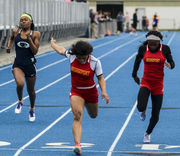 Top statewide girls track and field marks as of April 19