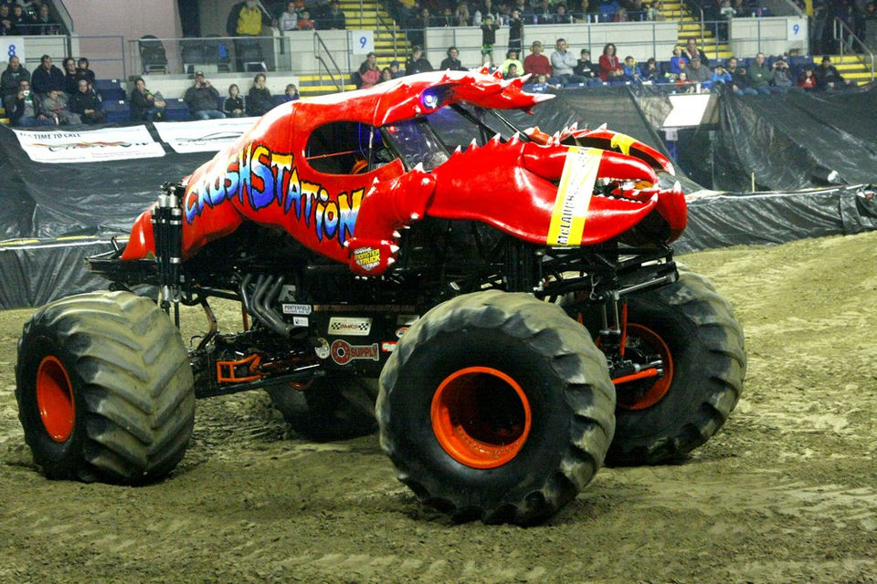 Traxxas Monster Truck Tour held at the Mass Mutual Center in Springfield