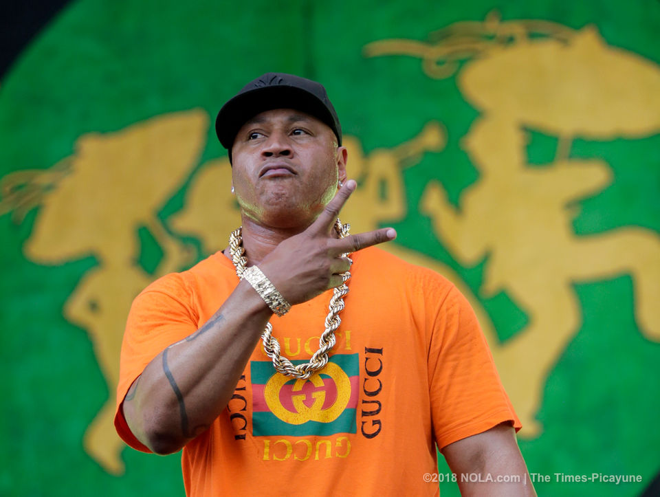 Image result for LL Cool J performed hip-hop history at New Orleans Jazz Fest
