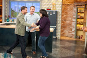 Alabama couple stunned to meet Dale Earnhardt Jr. on Rachael Ray show