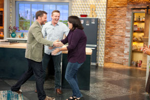 Justin and Bridget Caton get the surprise of a lifetime on national TV.