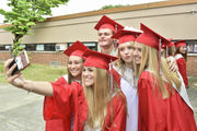 Photos: Over 200 graduate at East Longmeadow High School's 2018 Commencement