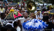 Celebrating the life of Tee Eva in New Orleans with a second-line