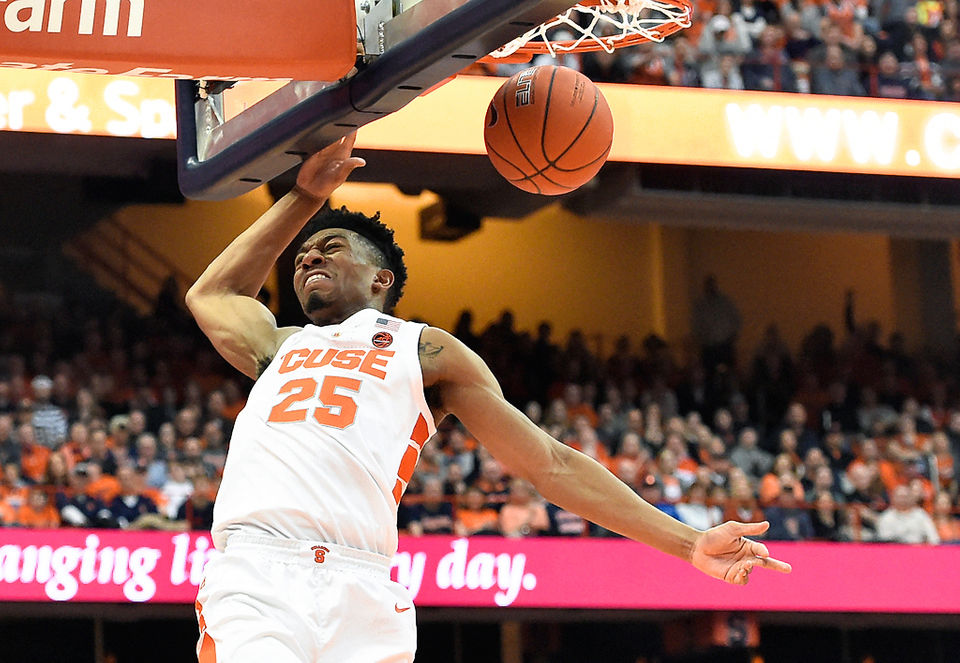 Photos Syracuse Basketball Vs Boston College 2019 Syracuse Com